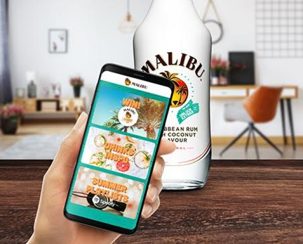 Malibu deploys 300,000 connected bottles as part of summer campaign