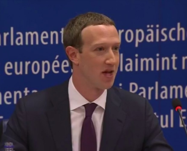 Mark Zuckerberg testifies before European Parliament in questionable format