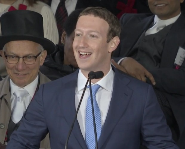 Facebook CEO Mark Zuckerberg delivers politically-driven Havard speech