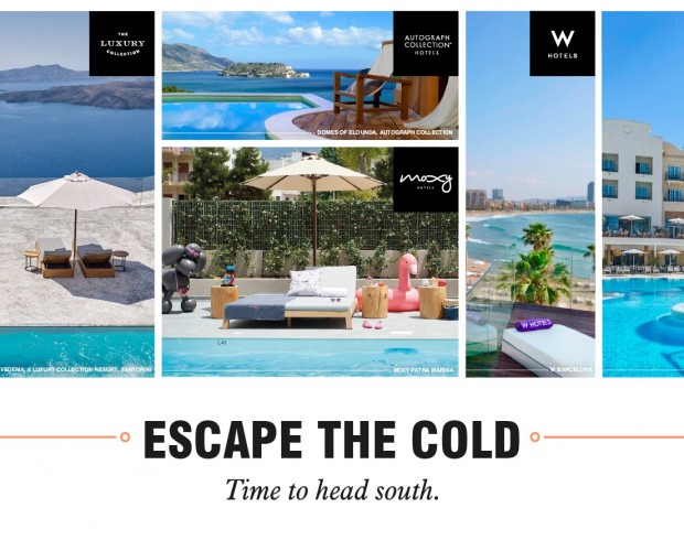 Marriott campaign uses scented OOH, day part and weather triggers to drive bookings