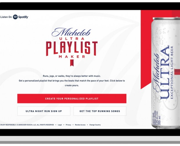 Michelob launches running-focused dynamic ad campaign on Spotify
