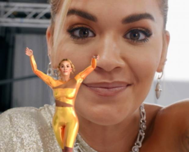 Rita Ora's AR avatar enters UK homes with EE