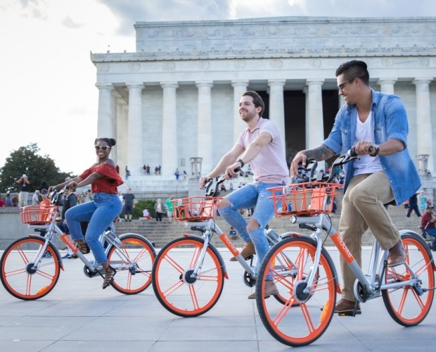 Mobike rides its way into the US capital, its first location in North America