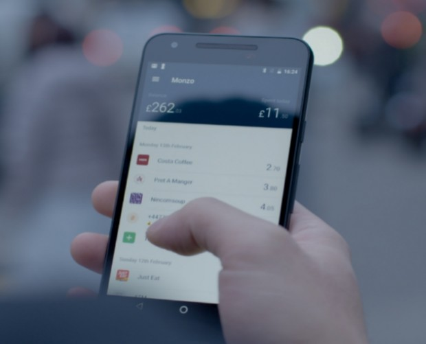 App-only bank Monzo went down along with other UK fintech startups on Sunday