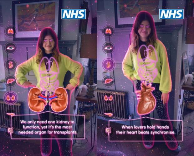 NHS joins forces with Snapchat to raise organ donation awareness