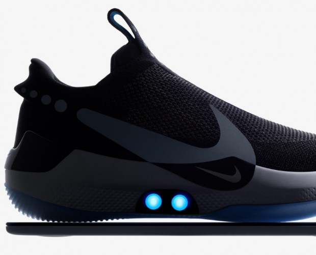Nike debuts phone-controlled self-lacing shoe
