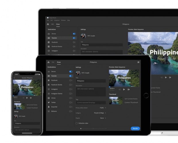 Adobe aims to streamline video production with Project Rush