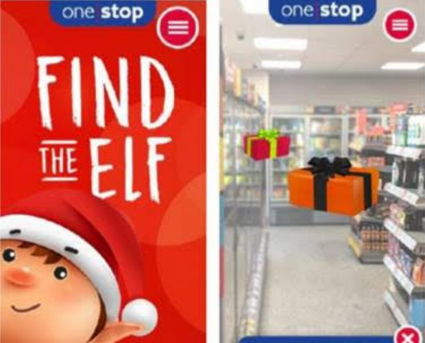 Tesco's One Stop launches AR game where customers can win prizes this Christmas