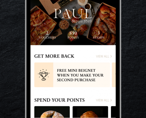 Paul UK to launch mobile payments and loyalty app