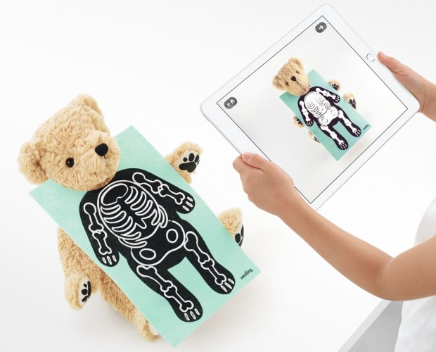 Meet Parker, the world's first AR bear, on sale in Apple stores