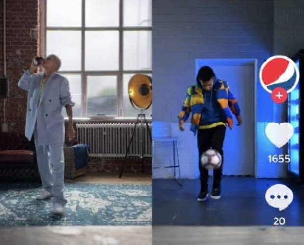 Pepsi gives fans chance to 'duet' with football stars on TikTok