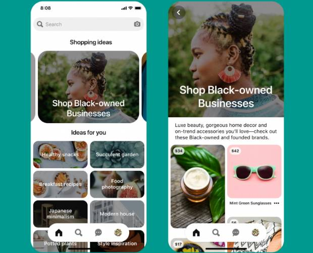 Pinterest launches tool to help boost underrepresented creators