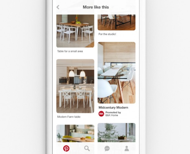 Pinterest brings its visual discovery tech to advertising
