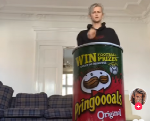 #PlayWithPringles TikTok campaign racks up 230m views in less than three weeks