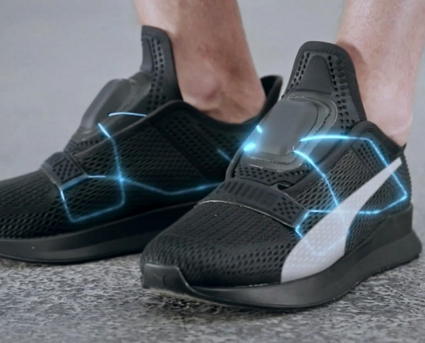 Puma takes on Nike with its own self-lacing shoes