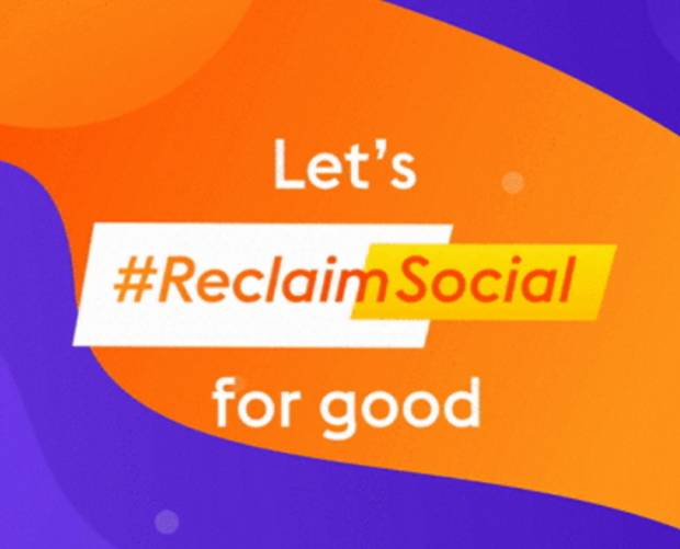 #ReclaimSocial movement encourages charities to flood social media with positivity
