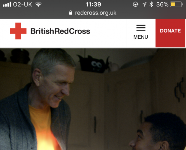 Mobile to the fore in British Red Cross website redesign