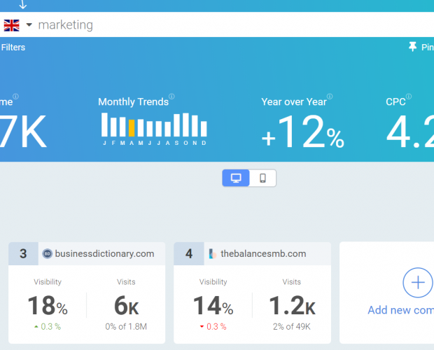 SEOmonitor launches free keyword research tool for marketers