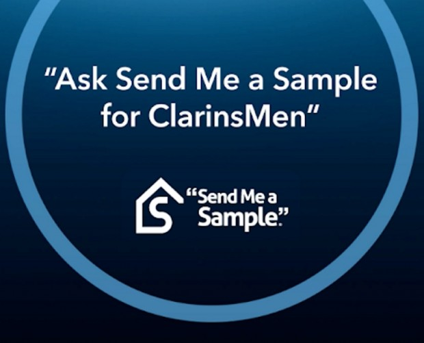 Clarins launches Father's Day voice campaign with Send Me A Sample