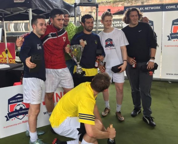 Snack Media crowned first-ever Mobile Marketing Industry Football champions
