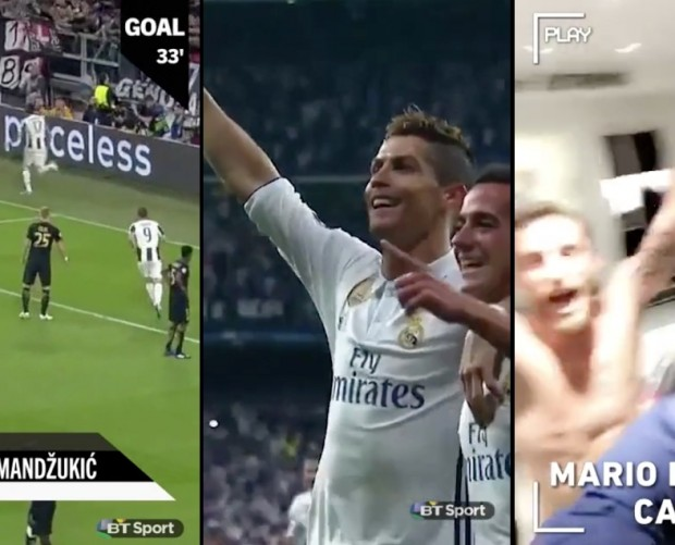 Snapchat partners with BT Sport for Champions League final coverage