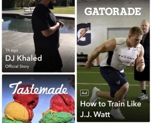 Snapchat brings Story Ads to Discover