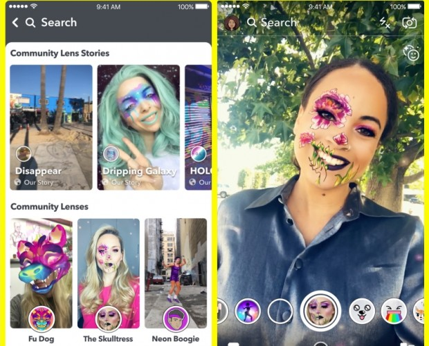 Snapchat could soon help users buy things on Amazon, debuts extensive library of lenses