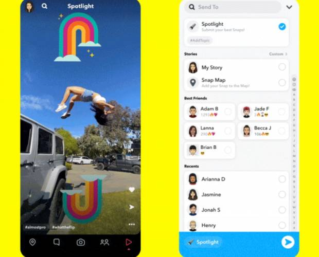 Snapchat debuts TikTok rival alongside the lure of $1m