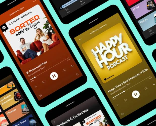 Spotify launches podcast advertising in the UK