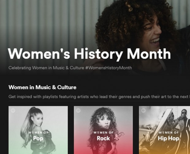 Spotify launches hub to 'Amplify' important issues, starts with celebration of women