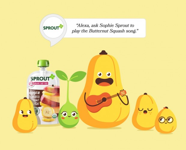 Sprout Foods launches Alexa skill aimed at improving family nutrition