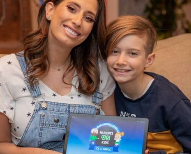 Stacey Solomon teams up with NSPCC and O2 to help provide online education to families
