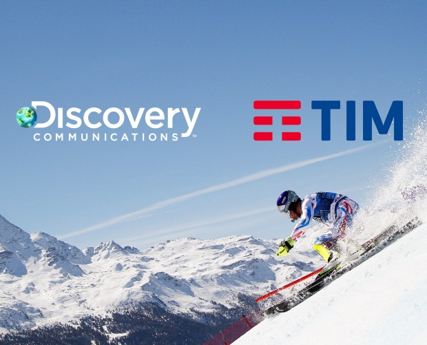 Discovery and TIM partner for exclusive Olympics coverage