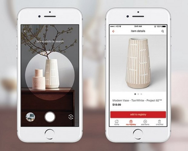 Target to add Pinterest's visual search tech to its app