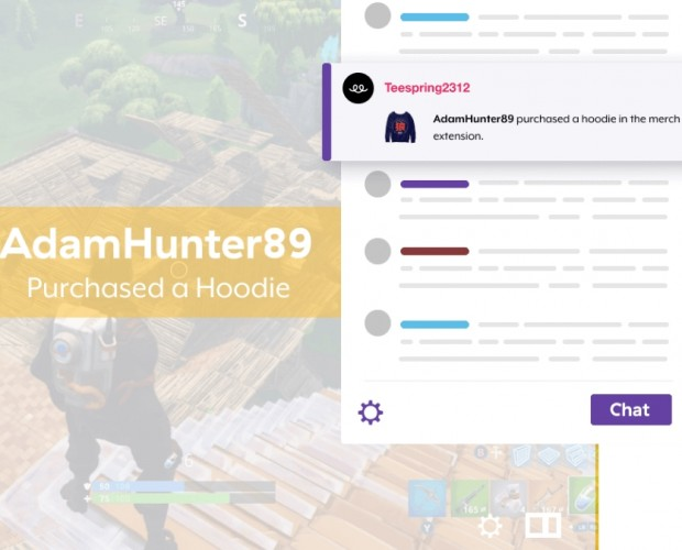Teespring teams with Twitch on social commerce