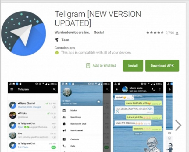 Telegram becomes the latest app to be imitated by fraudsters