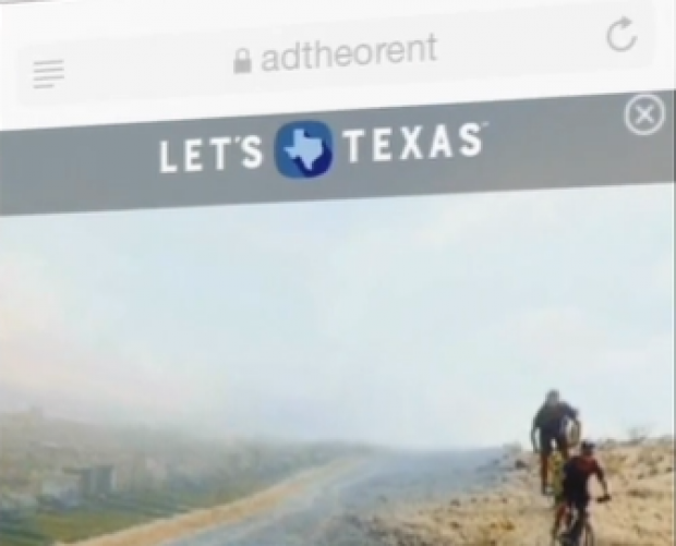 360-degree mobile campaign drives Texas tourist visits