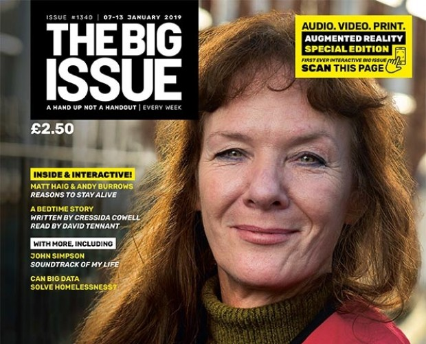 The Big Issue is using AR to show the true scale of homelessness