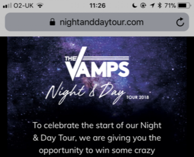 The Vamps turn to mixed reality for tour launch promo