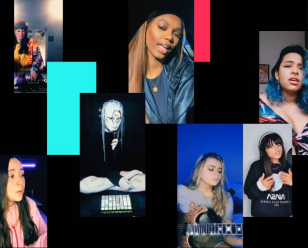 TikTok launches campaign to highlight underrepresentation of women in music