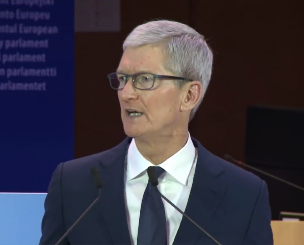 Apple boss Tim Cook fires shots at likes of Facebook, Google for 'weaponisation' of data