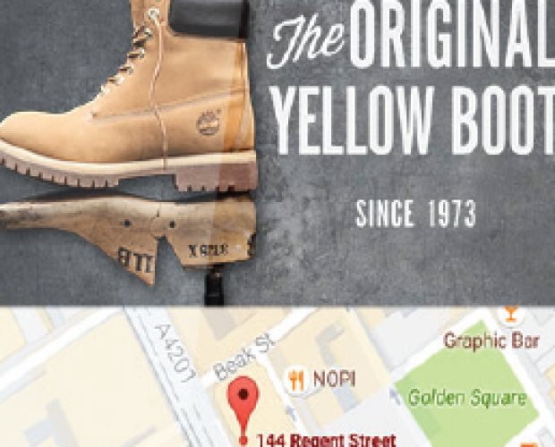 Timberland drives footfall with location campaign through xAd