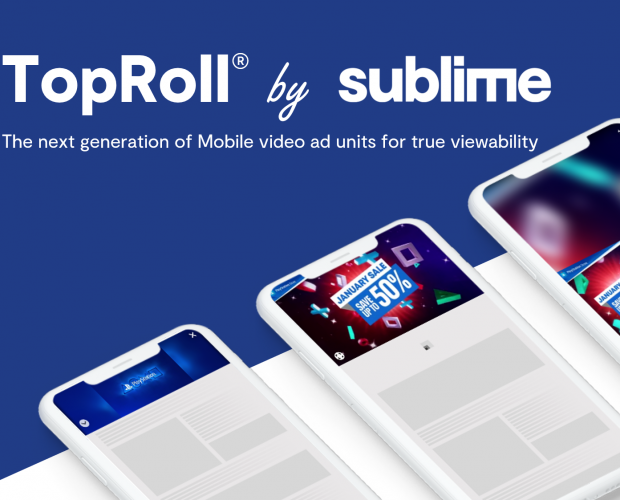 Sublime introduces revolutionary TopRoll video ad unit