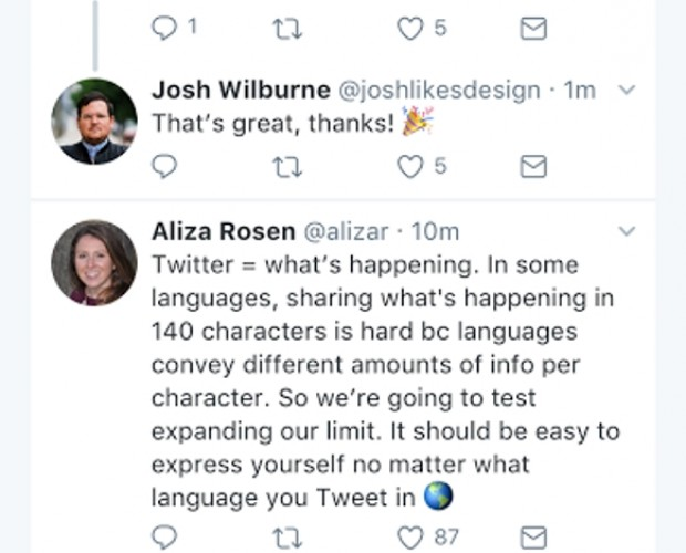 Twitter tests doubled character length for tweets