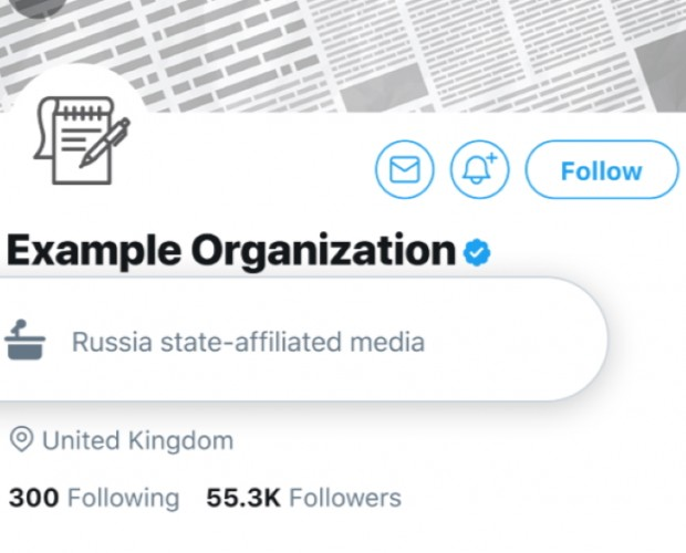 Twitter to label accounts of government officials and state-linked media