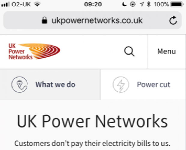 UK Power Networks launches mobile-responsive web app