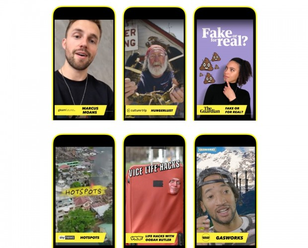 UK media brands expand presence on Snapchat
