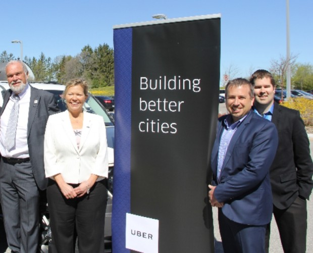 Uber teams up with Innisfil, Ontario to help residents get around town