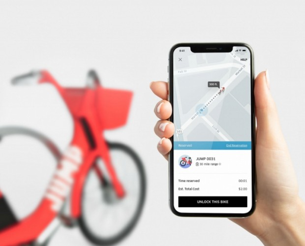 Uber is testing an electric bike sharing service
