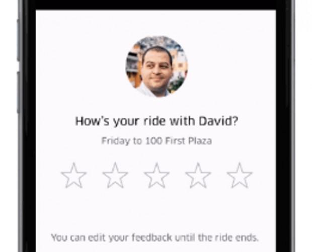 Uber now lets you rate your driver mid-ride